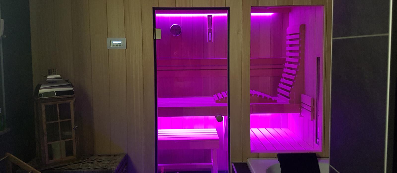 Sauna bouw